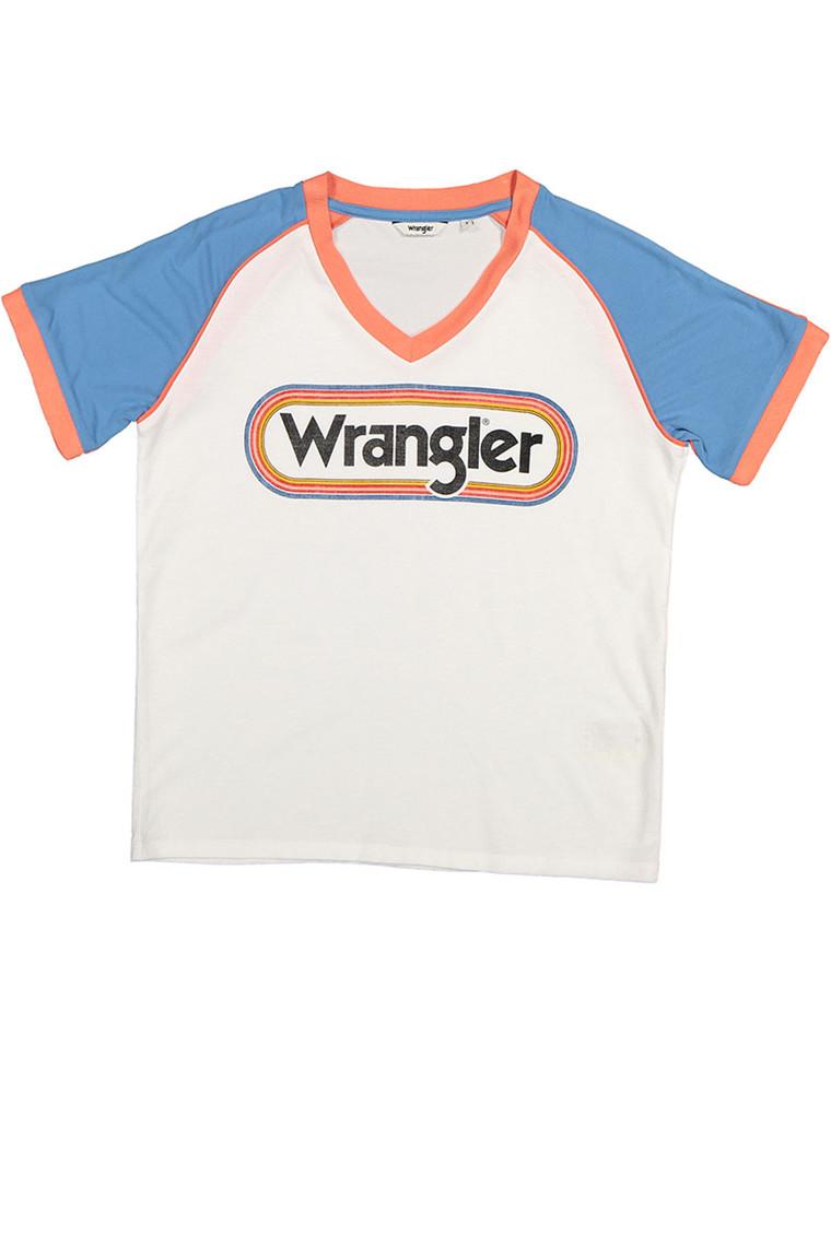 WRANGLER Raglan Egret t-shirt