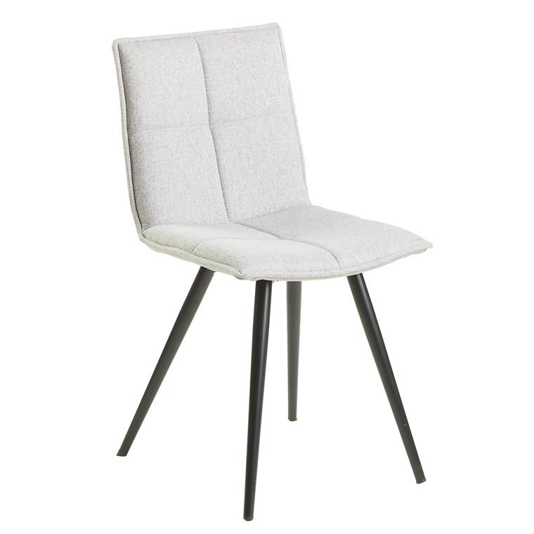ABBY spisebordsstol lysegrå