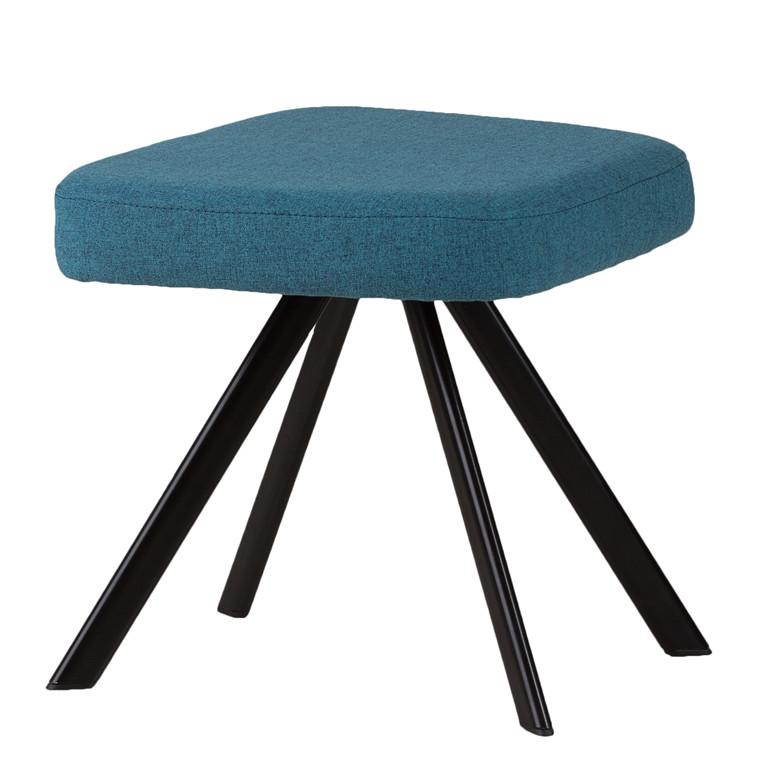 Vigga loungeskammel blå