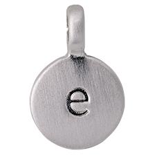 "PILGRIM Pendants ""E"" sølv, vedhæng"