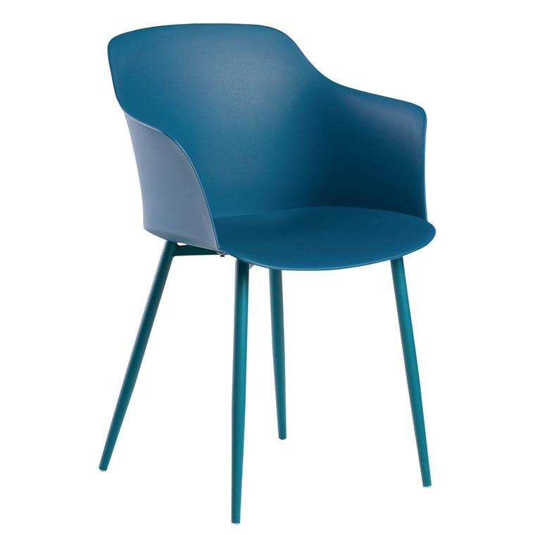ELLIPSE spisebordsstol blå