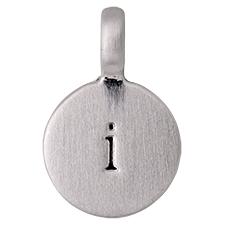 """PILGRIM Pendants """"I"""" sølv vedhæng"""