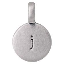 """PILGRIM Pendants """"J"""" sølv, vedhæng"""
