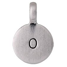 """PILGRIM Pendants """"O"""" sølv vedhæng"""