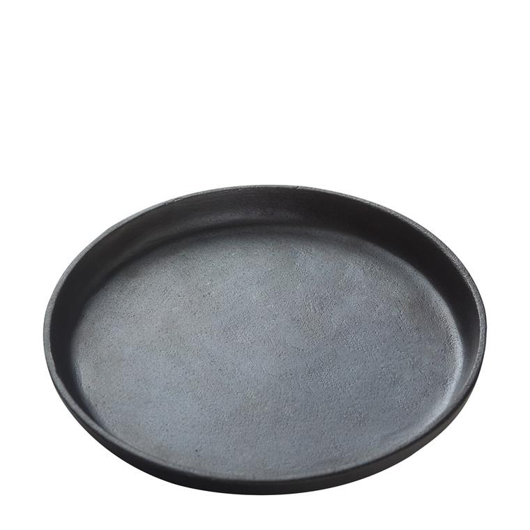 CRÉTON MAISON Seto tallerken i støbejern rund