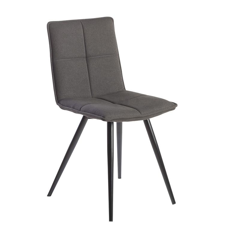 ABBY spisebordsstol mørkegrå