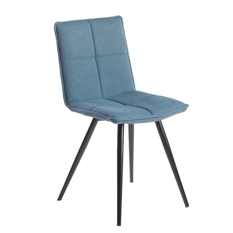 ABBY spisebordsstol blå