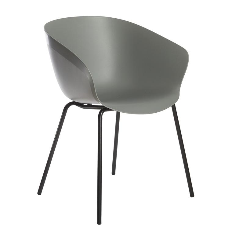 MIKA spisebordsstol grå