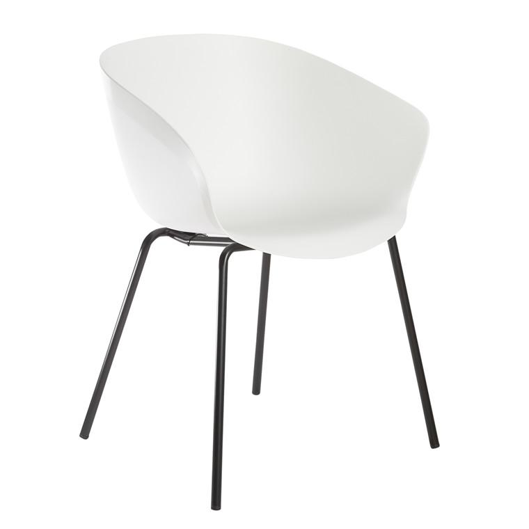 MIKA spisebordsstol hvid