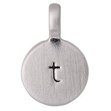"""PILGRIM Pendants """"T"""" sølv"""