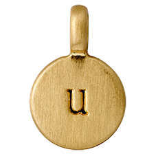 "PILGRIM Pendants ""U"" guld"