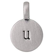 "PILGRIM Pendants ""U"" sølv"