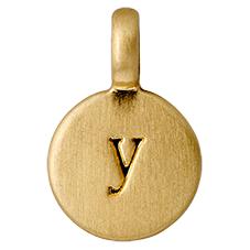 "PILGRIM Pendants ""Y"" guld"