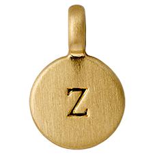 "PILGRIM Pendants ""Z"" guld"