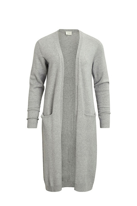 VILA Viril long knit cardigan
