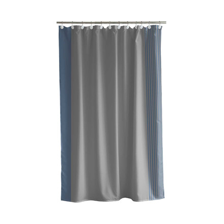 SÖDAHL Mist badeforhæng 180x200 cm grå/china blue