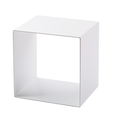 SHAPE IT metalbogkasse hvid 23 x 23 x 18 cm