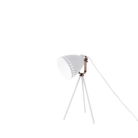 LEITMOTIV Bordlampe Mingle hvid