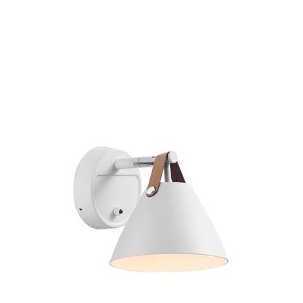 DFTP Strap 15 væglampe GU10 hvid