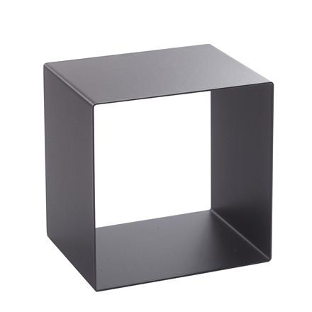 SHAPE IT metalbagkasse sort 23 x 23 x 18 cm