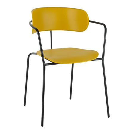 OWIN spisebordsstol i gul