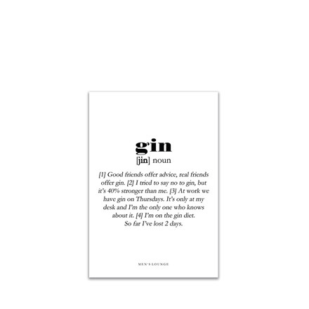 MEN'S LOUNGE Gin Definition A5