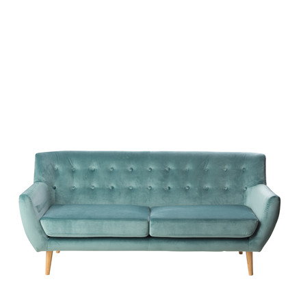 MIAMI 2½ pers. sofa ocean green