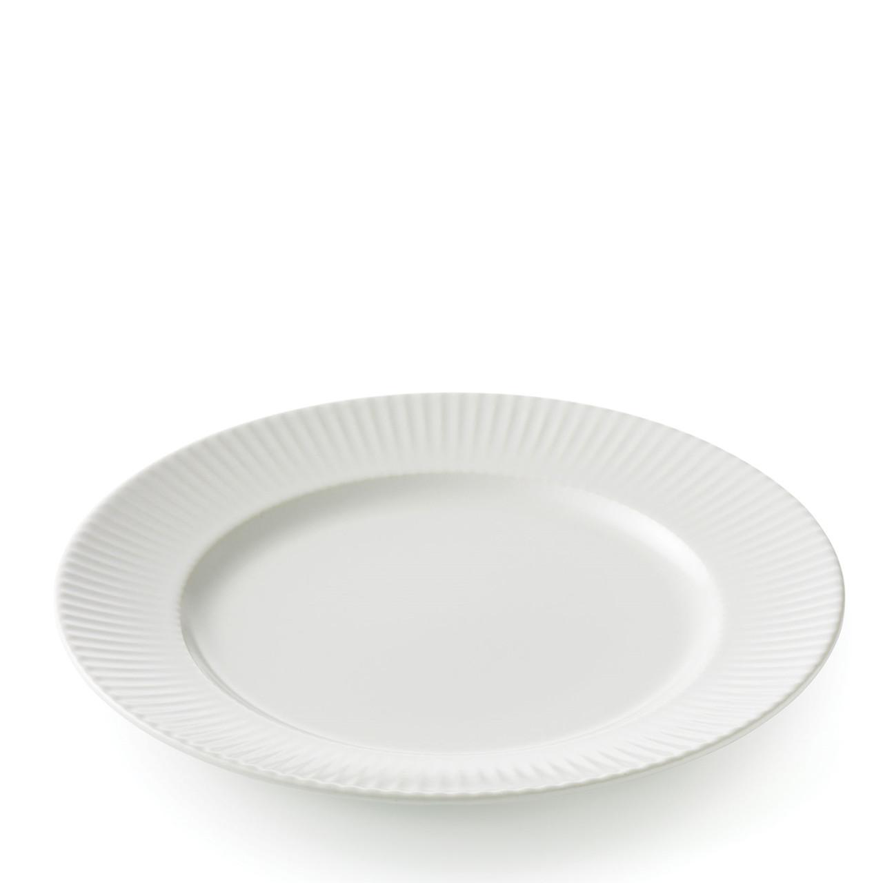 Billede af AIDA Groovy frokosttallerken Ø21 cm hvid stentøj