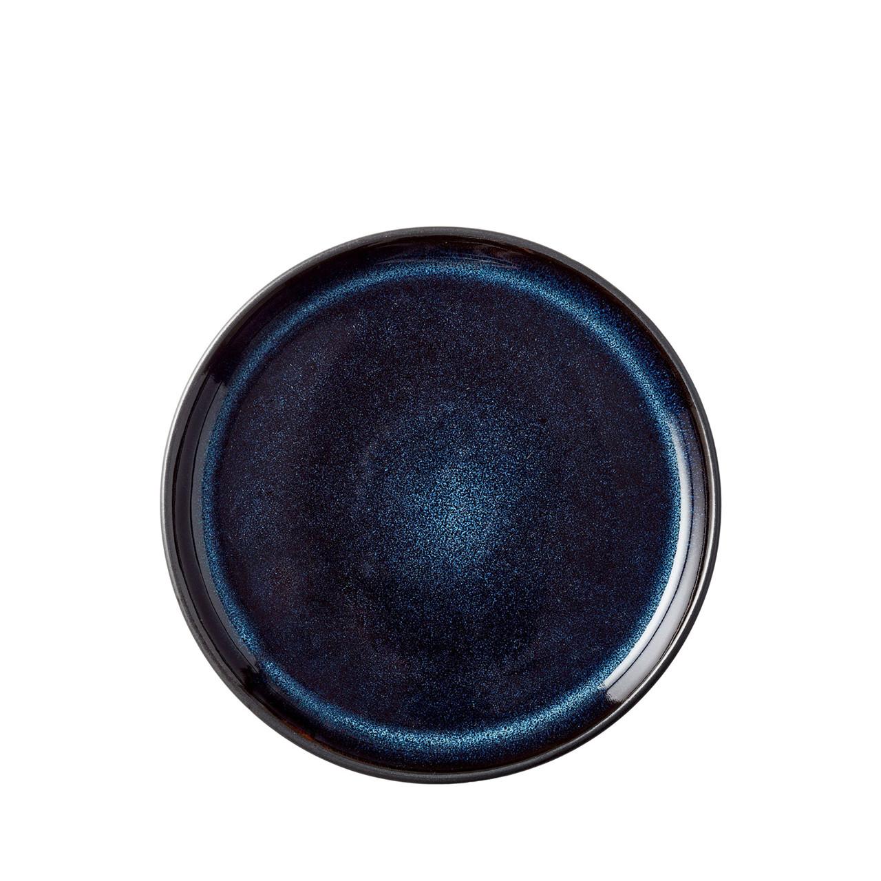 Billede af BITZ Gastro tallerken 17cm sort/mørkeblå