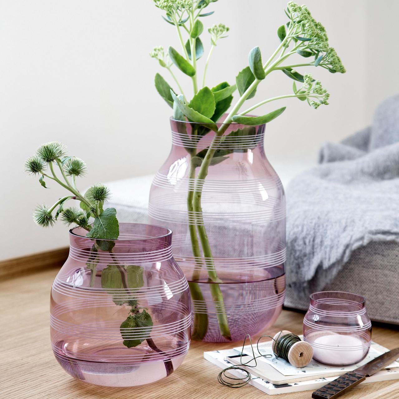 Khler Omaggio Vase H 17 Cm Blomme Kb Her
