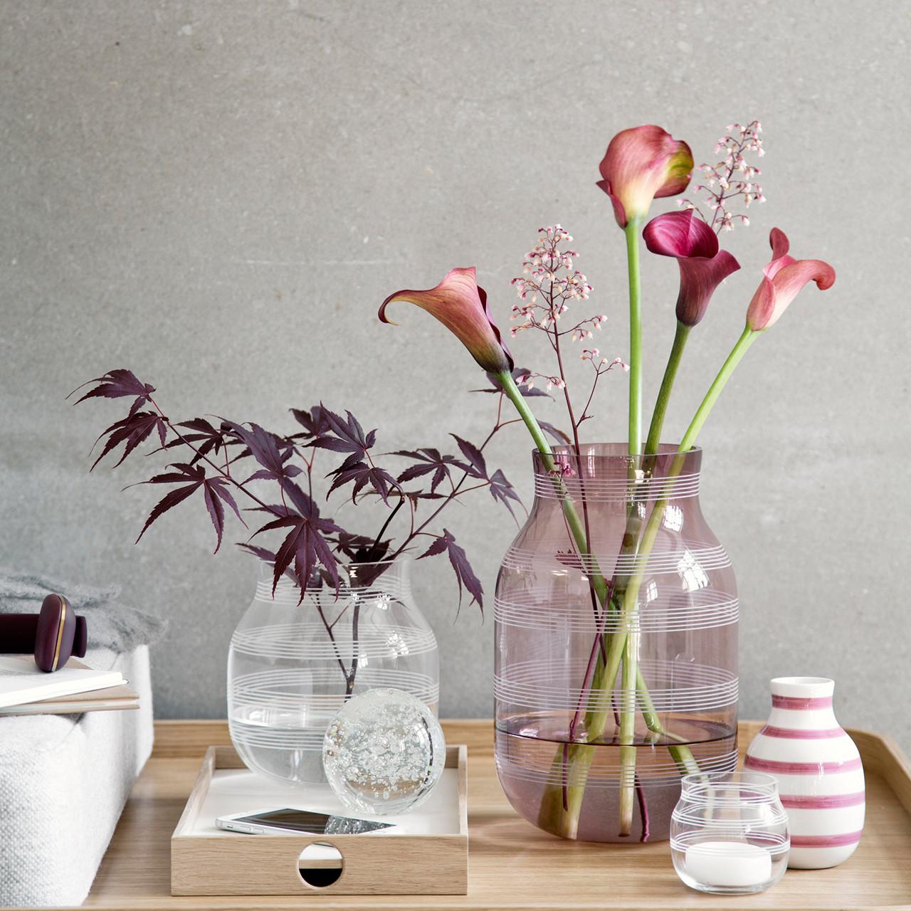 Khler Omaggio Vase H 28 Cm Blomme Kb Her