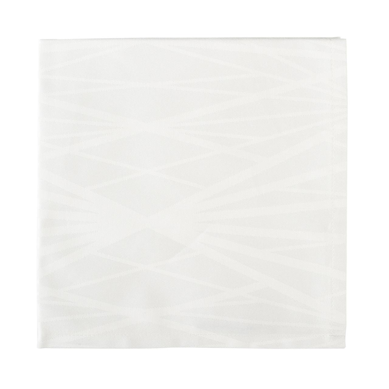 SÖDAHL Diamond Grid mundservietter 4 pak off white