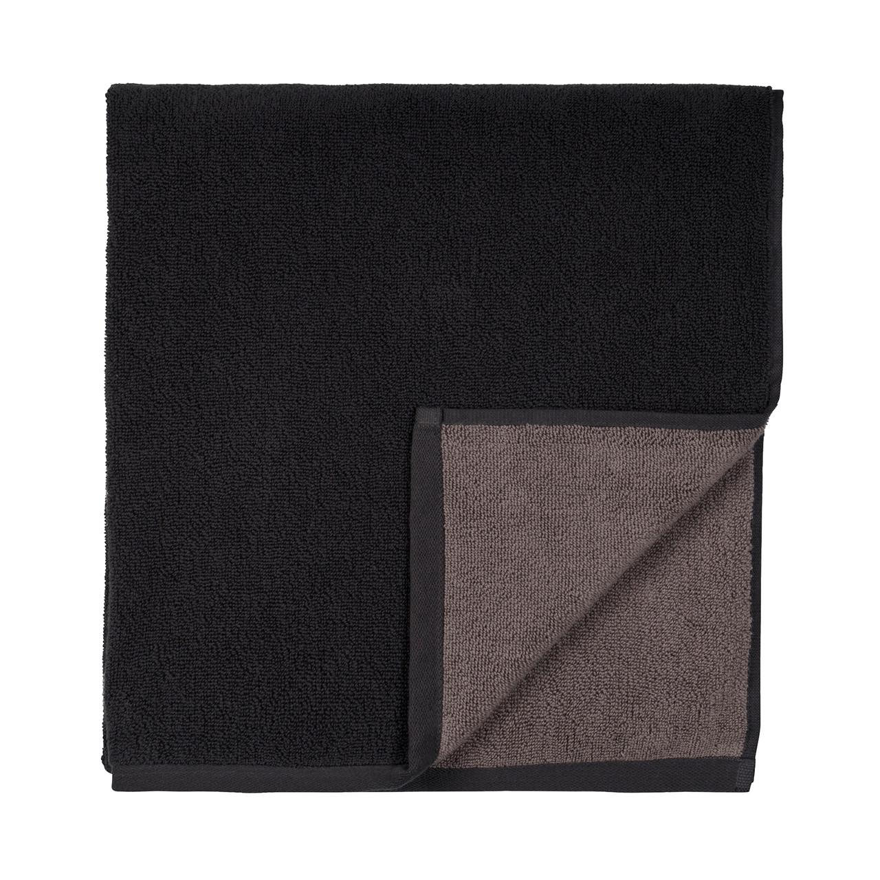 SÖDAHL Håndklæde 50x100 fragment mørk grå/lys grå