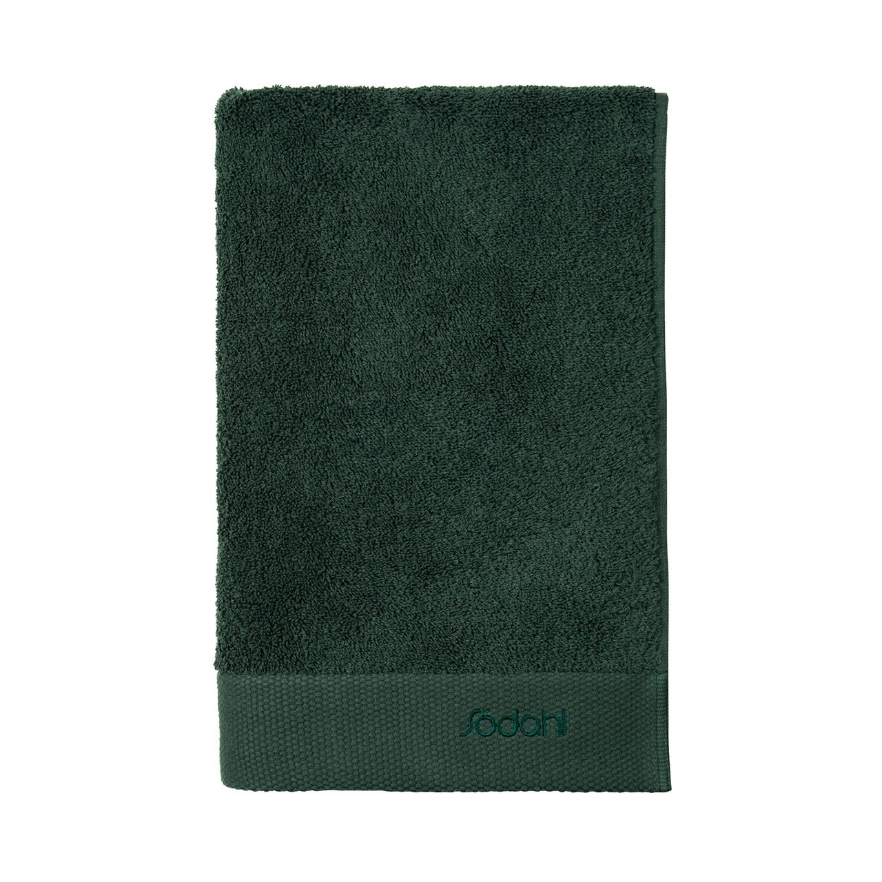 SÖDAHL Håndklæde 70x140 Comfort mørk grøn