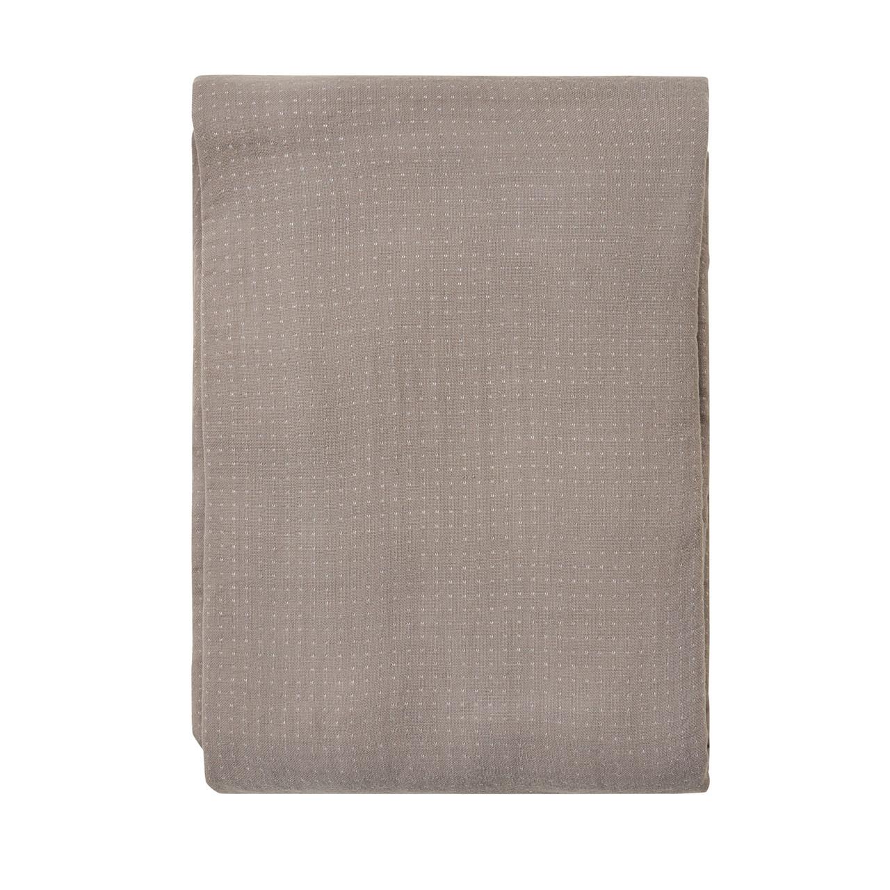 SÖDAHL Point sengetæppe 240x260 cm grå