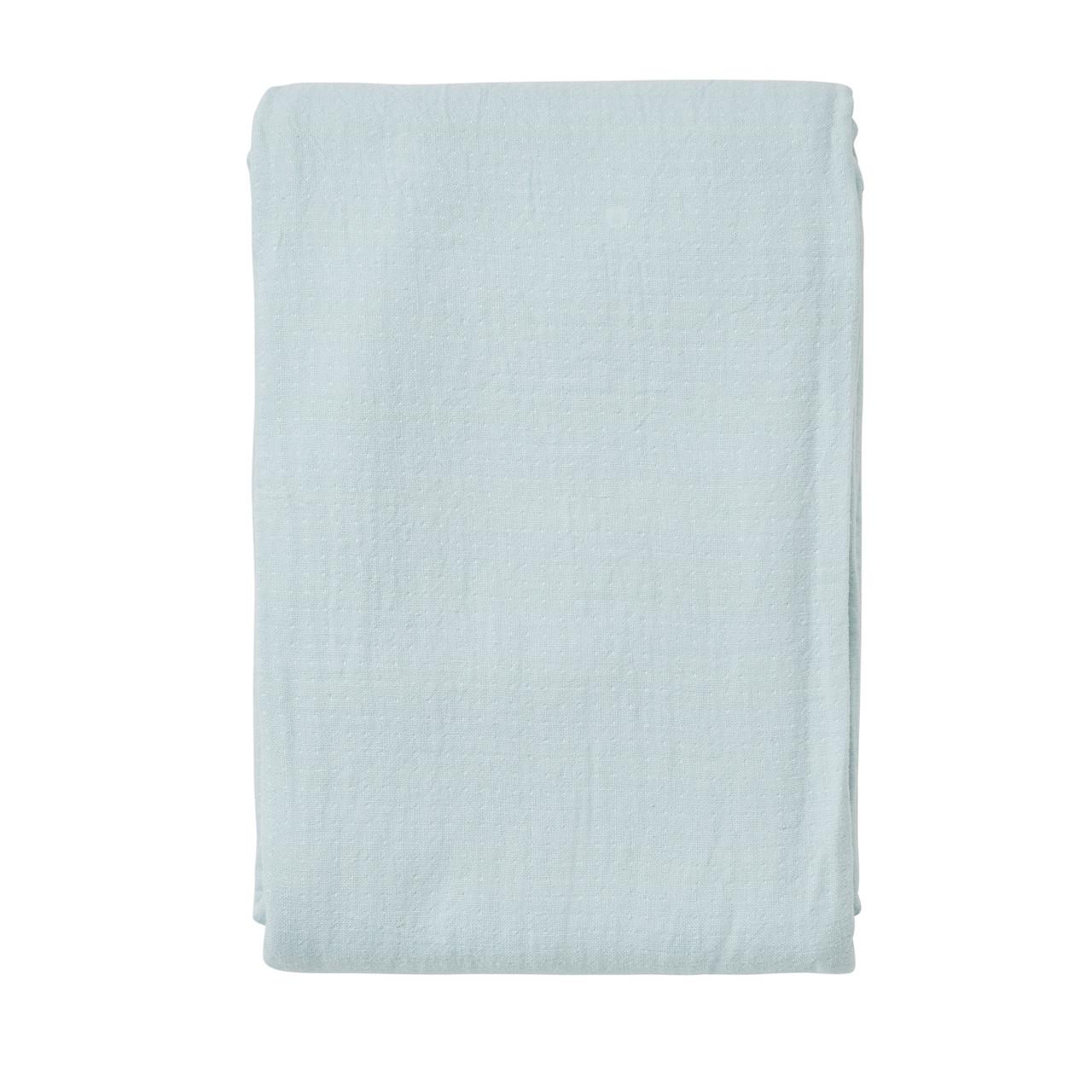 SÖDAHL Point sengetæppe 240x260 cm linen blue