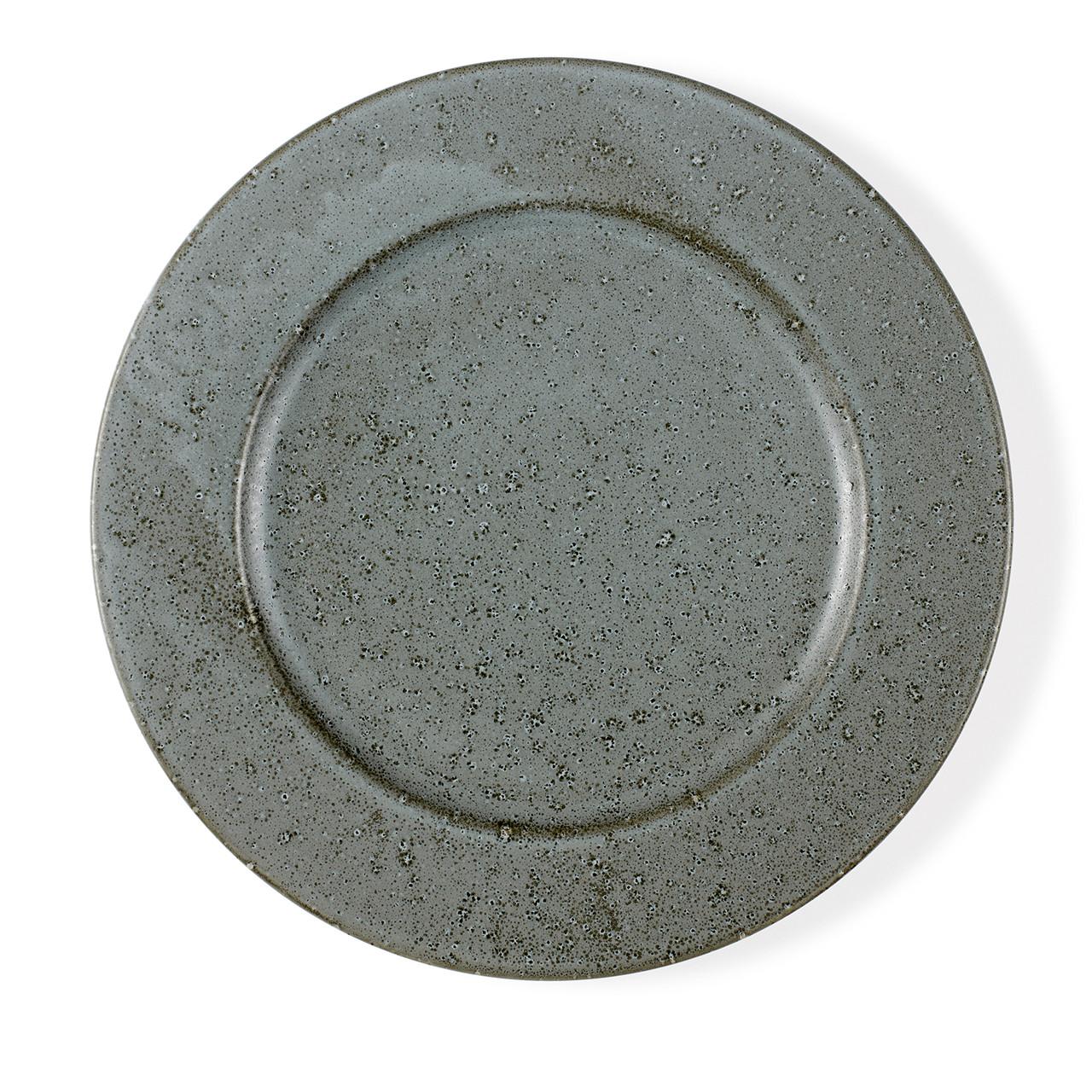 Bitz tallerken 27 cm grå stentøj » Køb her
