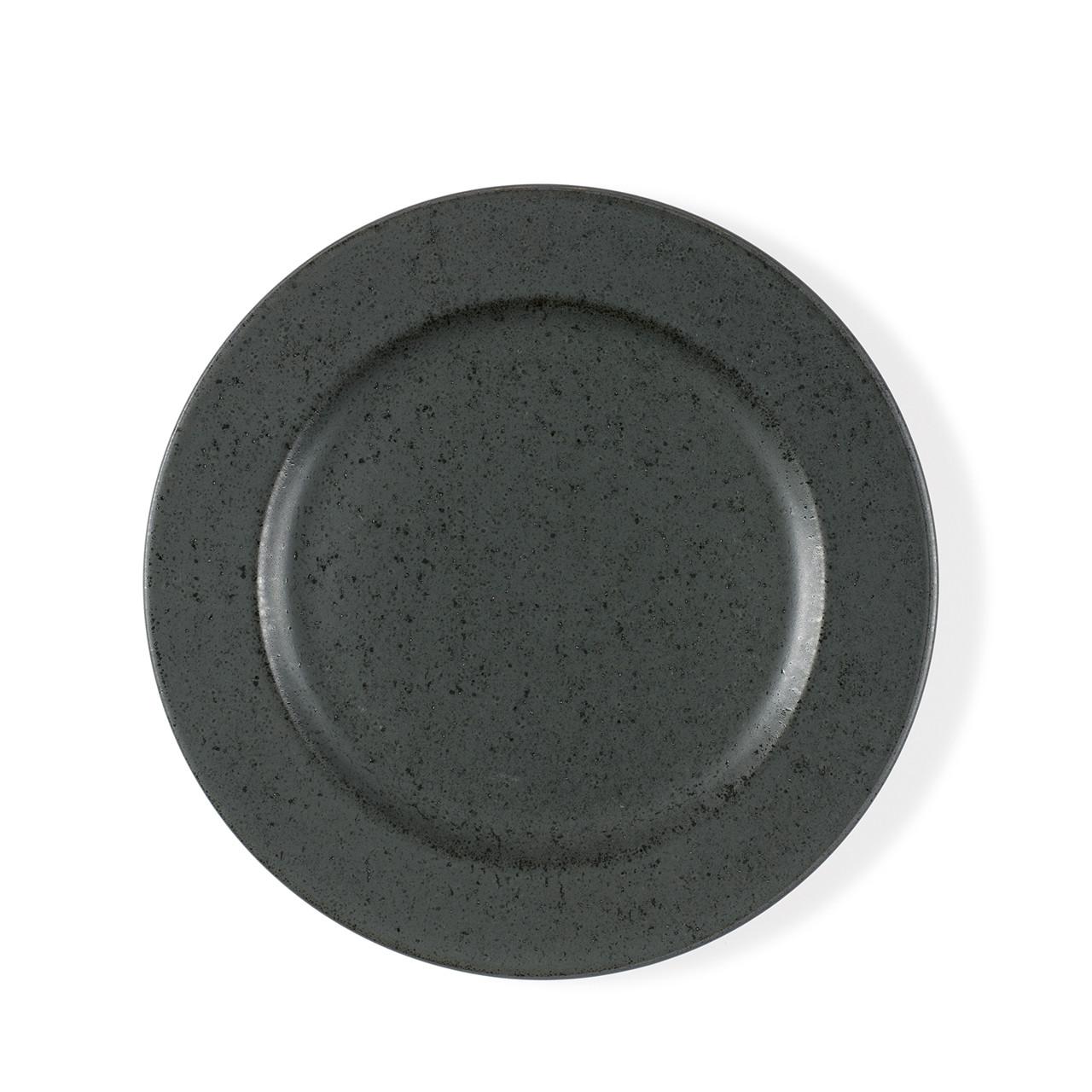 BITZ tallerken 22cm antracit sort stentøj » Køb her