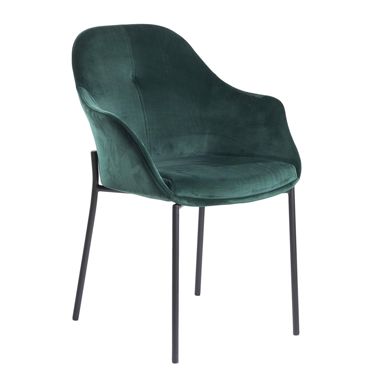 velour stol NEW AGE stol grøn velour velour stol