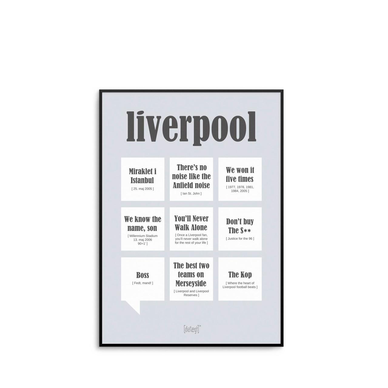 Billede af DIALÆGT Liverpool 2019 A5