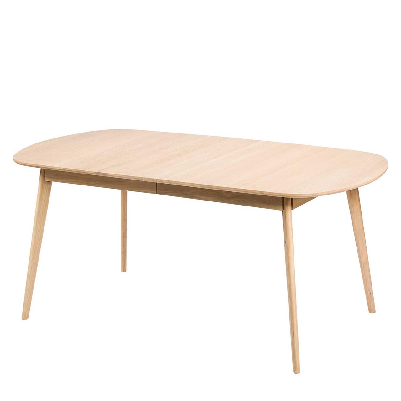 spisebord med udtræk BLOOM spisebord med udtræk egetræ L 175 215 x B 90 cm » Køb her spisebord med udtræk