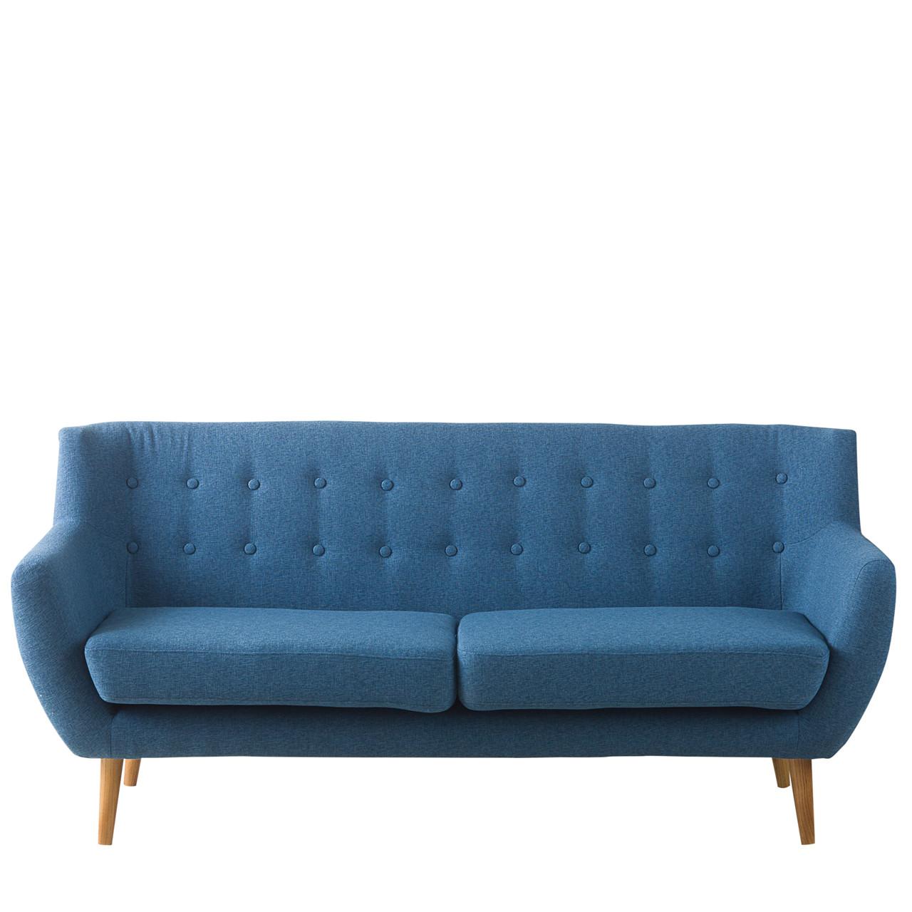sofa blå MIAMI 2½ pers. sofa blå » Køb her sofa blå