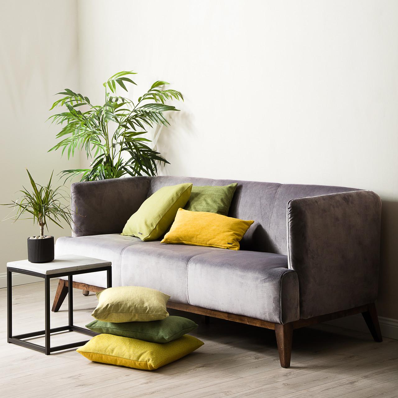 Kjent VIENNA velour sofa grå UU-88