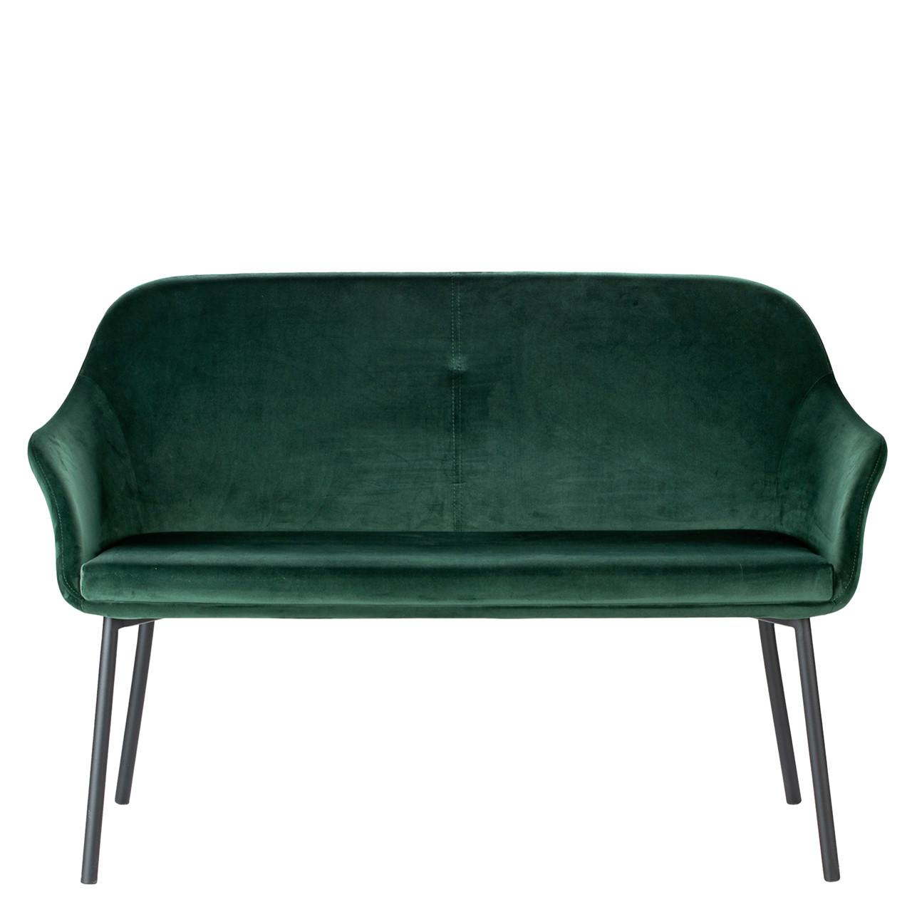 grøn sofa NEW AGE 2 pers. sofa grøn velour grøn sofa
