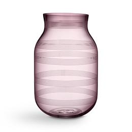 KÄHLER Omaggio vase H 28 cm blomme