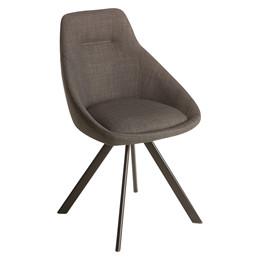 VIGGA spisebordsstol mørk grå
