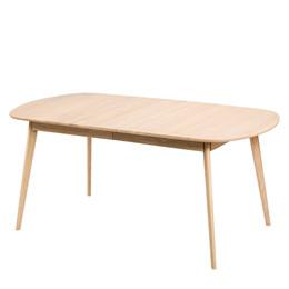 BLOOM spisebord med udtræk egetræ L 175-215 x B 90 cm