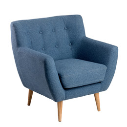 MIAMI loungestol blå