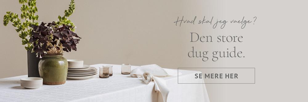 Seneste Duge   Køb en flot dug i høj kvalitet hos Sinnerup.dk DF42