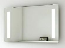 Spejl med LED lys 100 cm